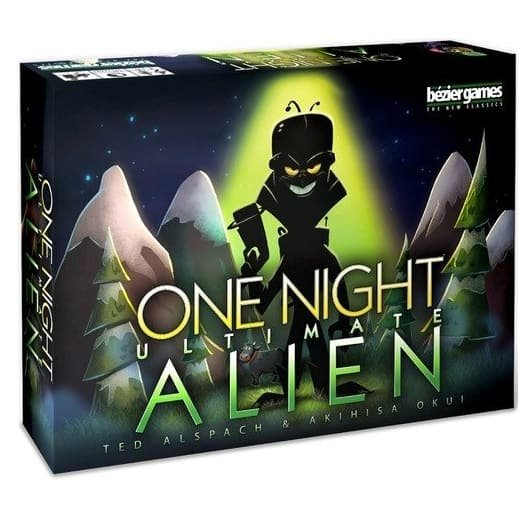 Bezier Games One Night Ultimate Alien Only $12.50 (Was $36.60)