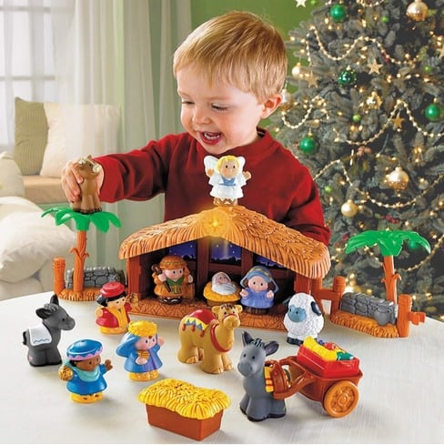 Fisher-Price Little People A Christmas Story Now .97 (Was .99)