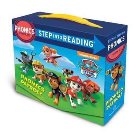 Paw Patrol Phonics Box Set Only $5.36