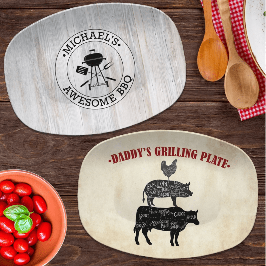 Personalized BBQ Grilling Platters .99