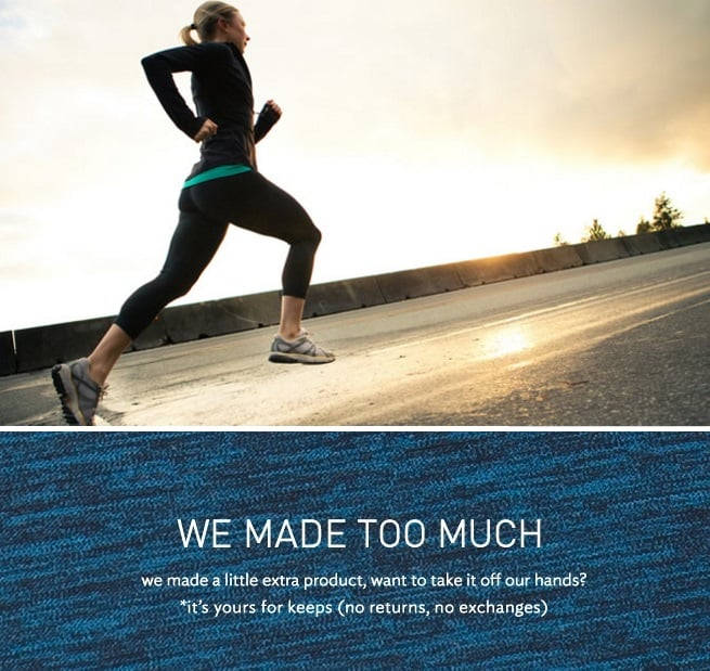 Lululemon We Made Too Much Sale - Prices Start at $9