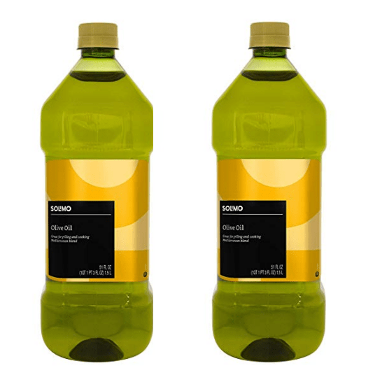 Amazon Brand - Solimo Olive Oil, Mediterranean Blend, 1.5L Only $9