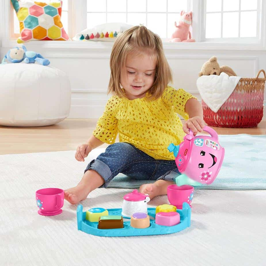 Fisher-Price Laugh & Learn Sweet Manners Tea Set Only $10.99 (Was $19.99)