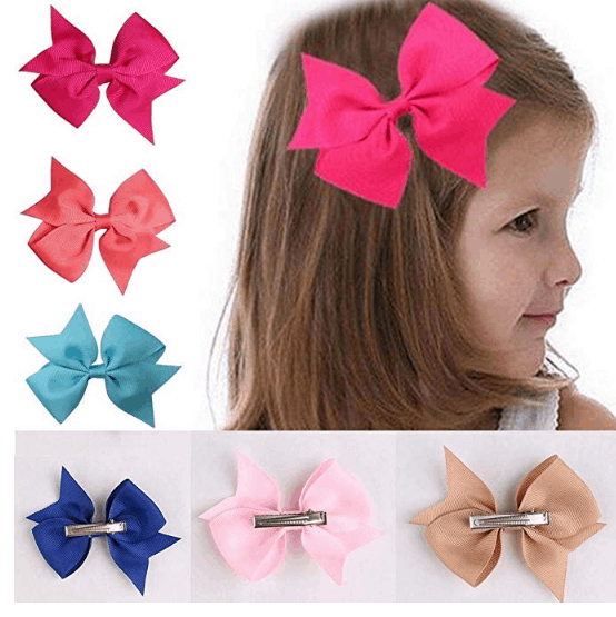 Angoo Beauty 10 Piece Girls Bow Kit Only $3.68