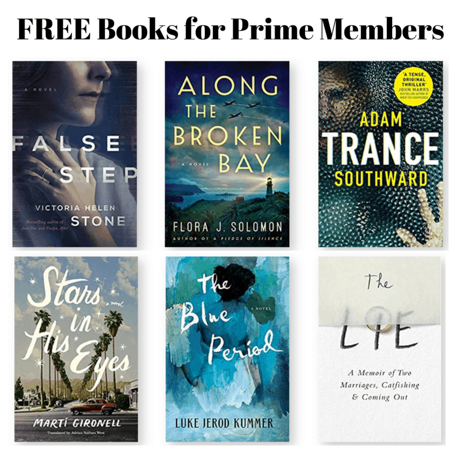 FREE Books for Prime Members with Kindle First - June 2019