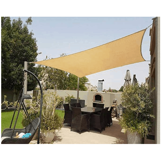 Shade&Beyond 8' x 10' Sun Shade Sail Canopy Only $21.44