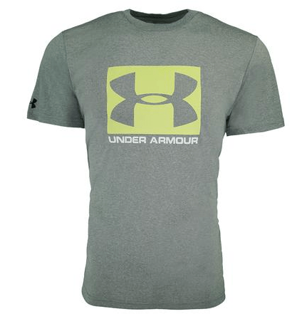 Proozy: Under Armour Men's Fitted Tech Boxed Sportstyle Logo T-Shirt $5.00 (Was $25)
