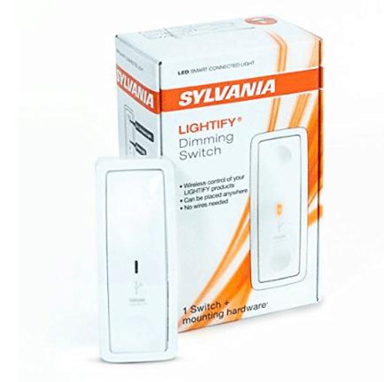 Sylvania Smart Home Lightify Smart Dimming Switch, $11.00