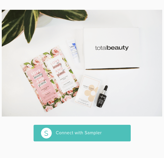 FREE Total Beauty Sampler Box