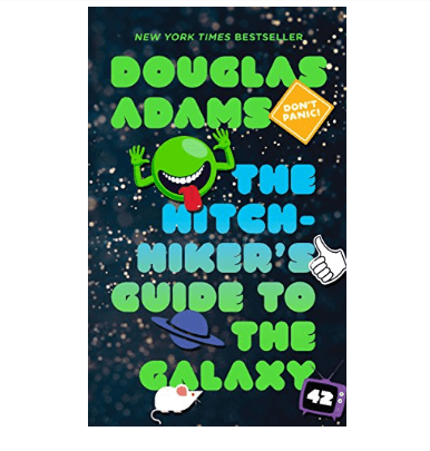 The Hitchhiker's Guide to the Galaxy Kindle Book Only $2.99