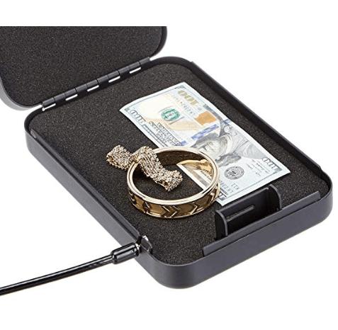 AmazonBasics Portable Security Case - Combination Lock, Large $19.99
