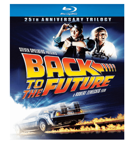 Back to the Future: 25th Anniversary Trilogy on Blu-ray $16.99