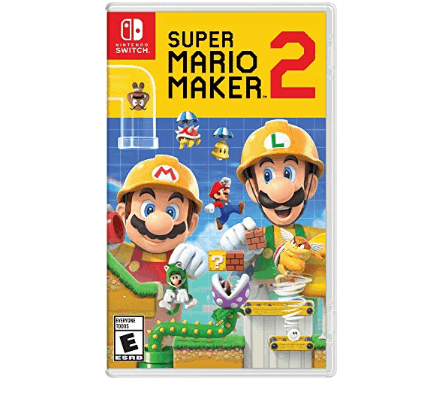 Super Mario Maker 2 - Nintendo Switch Game Only $39.99