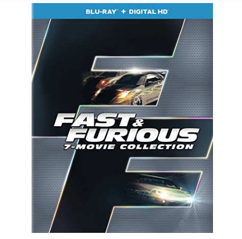 Fast & Furious 7-Movie Collection Blu-ray $16.49