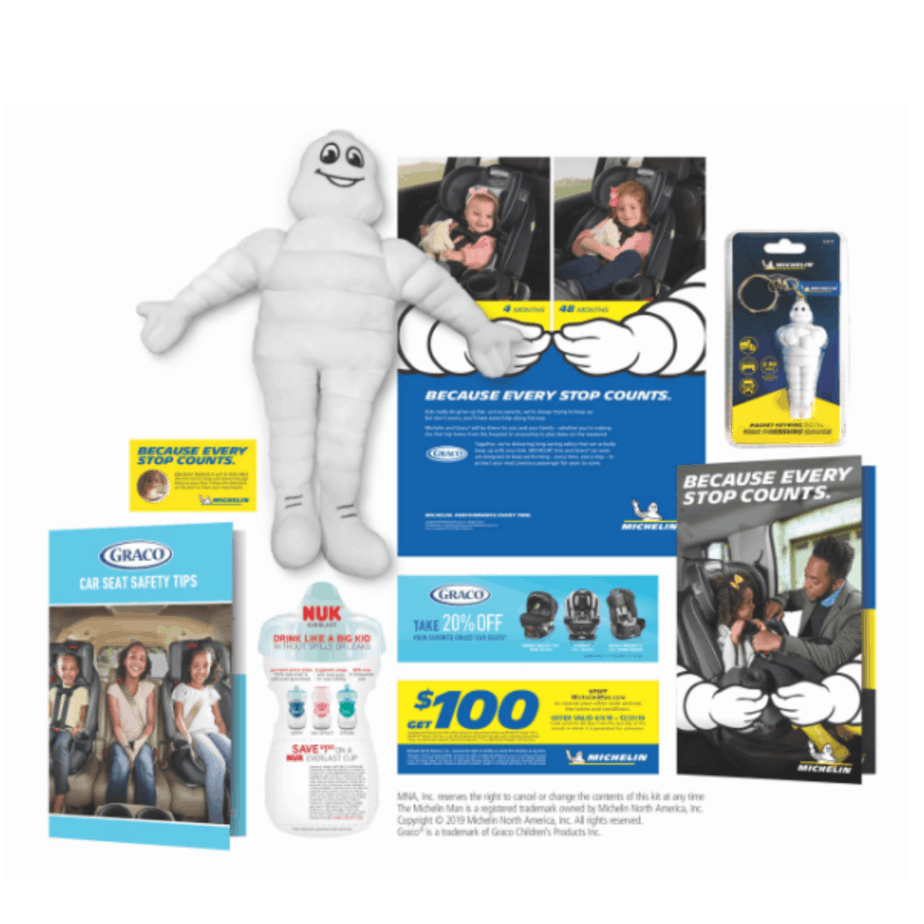 FREE Michelin The Welcome Baby Kit