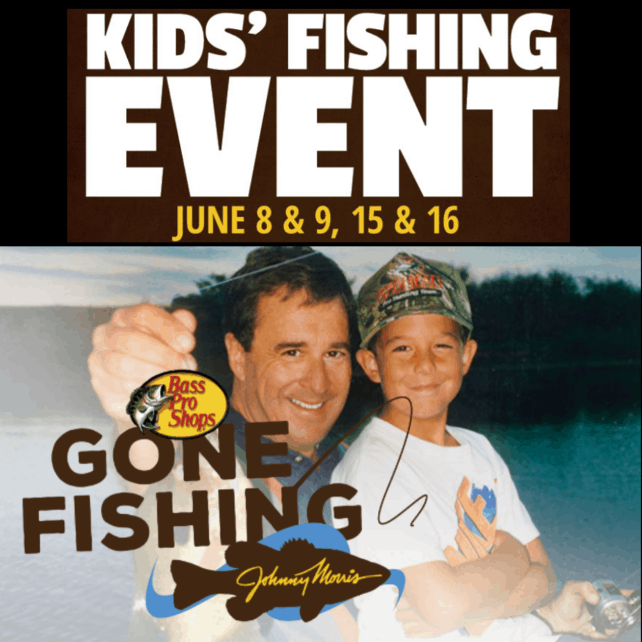 FREE Bass Pro Shop Gone Fishing Event for Kids