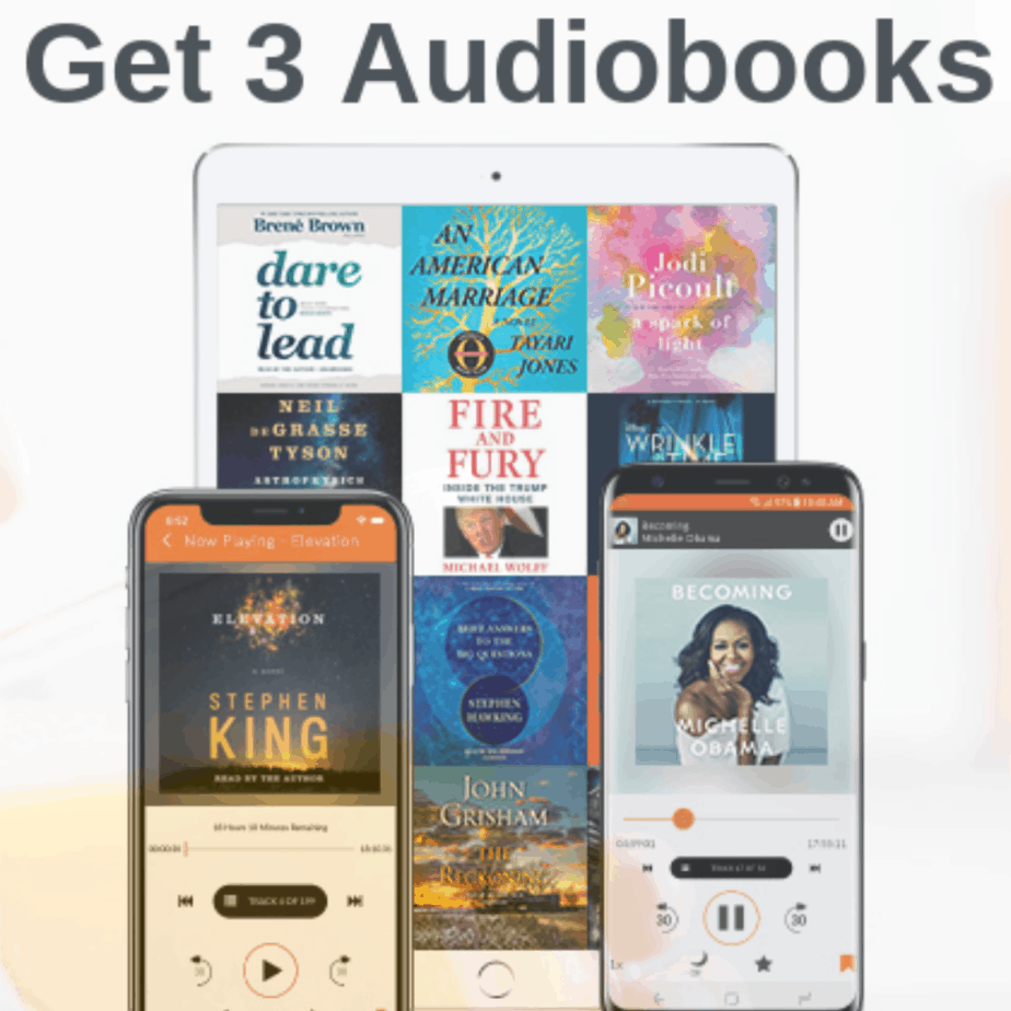 Snag 3 FREE Audiobooks from Audiobooks.com