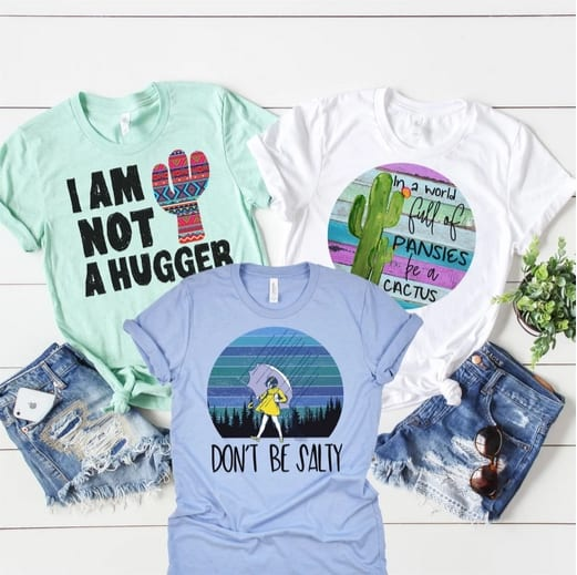 Funny & Sarcastic Tees Only $13.99