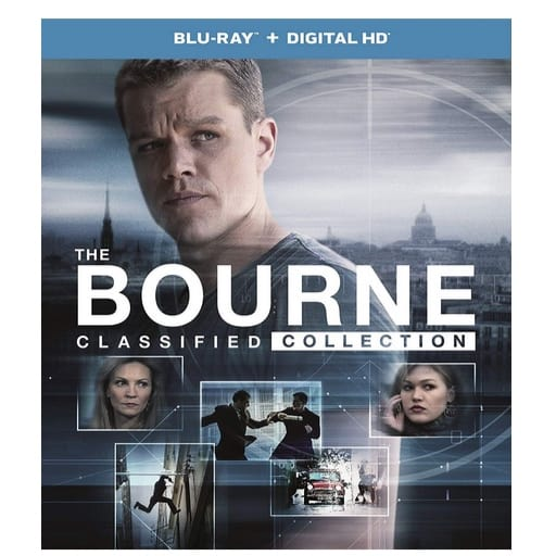 The Bourne Classified Collection Blu-ray Now $14.99 (Was $44.98)