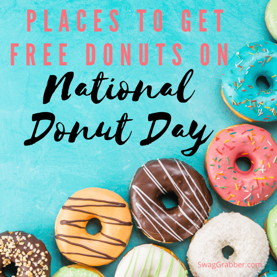 Places to Get Free Donuts on National Donut Day - It's TODAY!