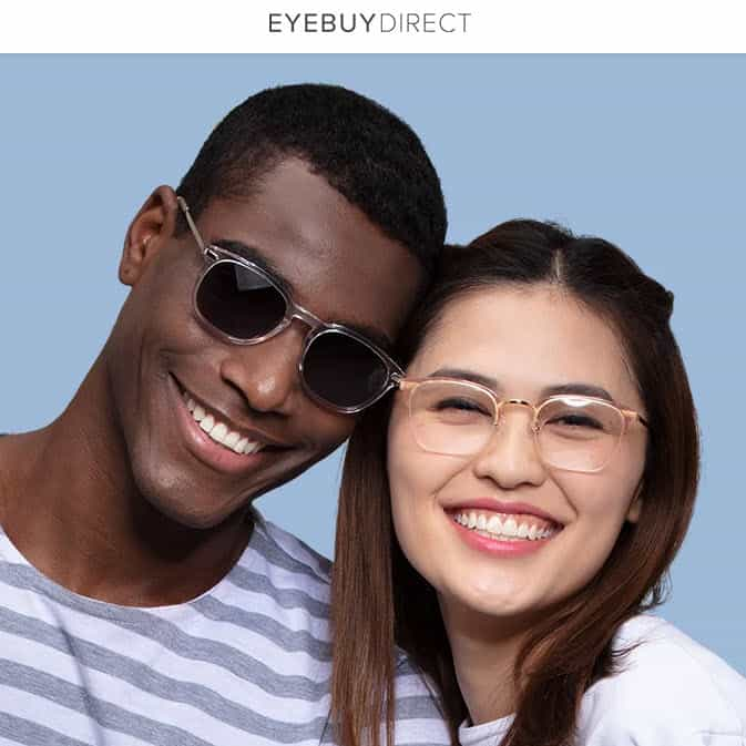 EyeBuyDirect: Buy One Get One Free + 15% Off