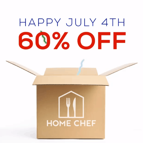 Home Chef 4th of July Sale - 60% off Code