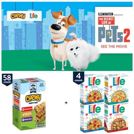 Buy Chewy / Life Bundle & Get Secret Life of Pets 2 Movie Ticket **HOT**