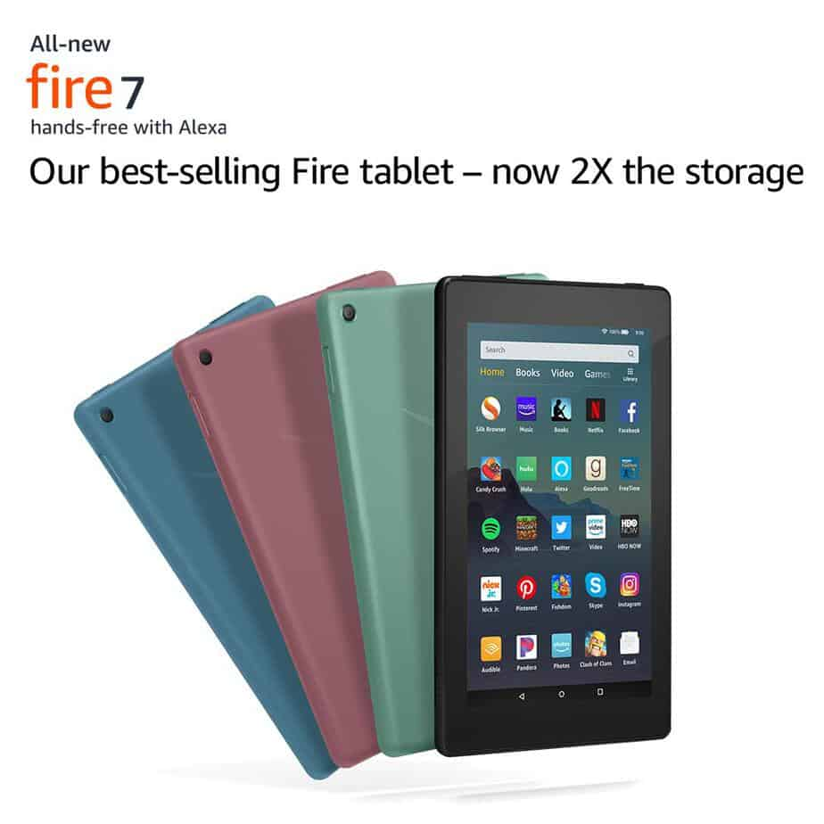 TWO All-New Fire 7 Tablets Only $50 **HOT**