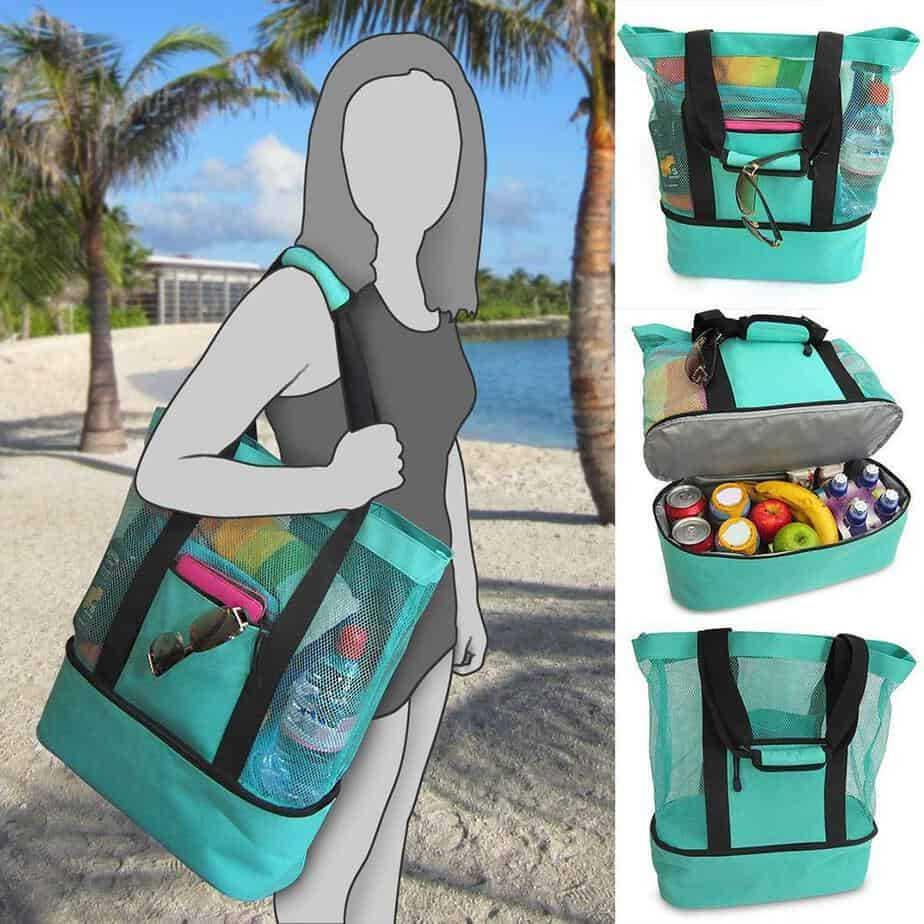 Multi-Function Picnic Beach Camping Insulated Ice Bag Only $11.99 (Was $60)