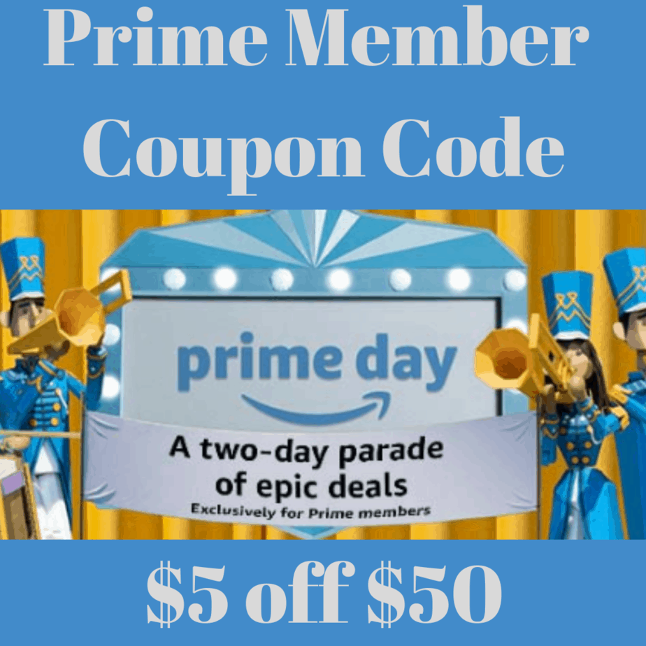 EXTRA $5 off Any $50 Purchase Code for Amazon Prime Members