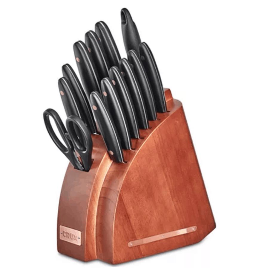 Macy's Flash Sale: Crux 14-Pc. Cutlery Set $21 w/ FREE Pick Up (Was $100)
