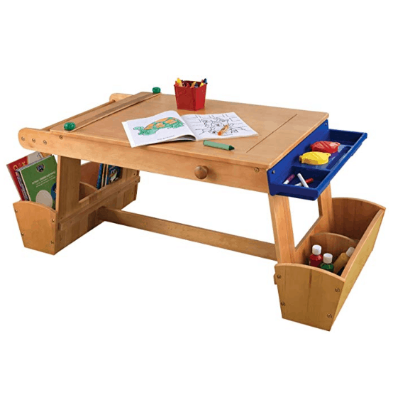 KidKraft Art Table with Drying Rack and Storage Only $67.19 for Prime Members (Was $145.53)