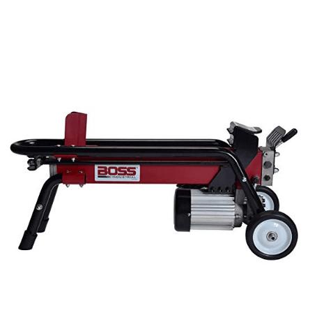 Boss Industrial ES7T20 Electric Log Splitter, 7-Ton $349.99