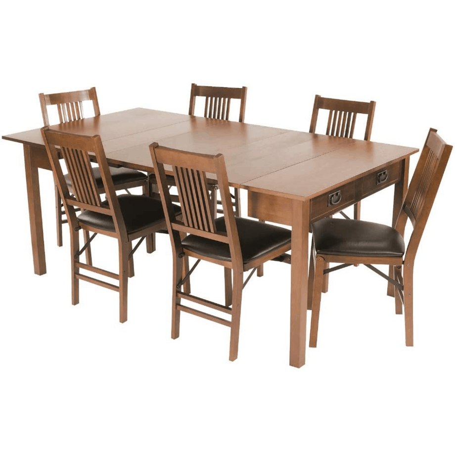 Stakmore Traditional Expanding Table Finish, Fruitwood 9
