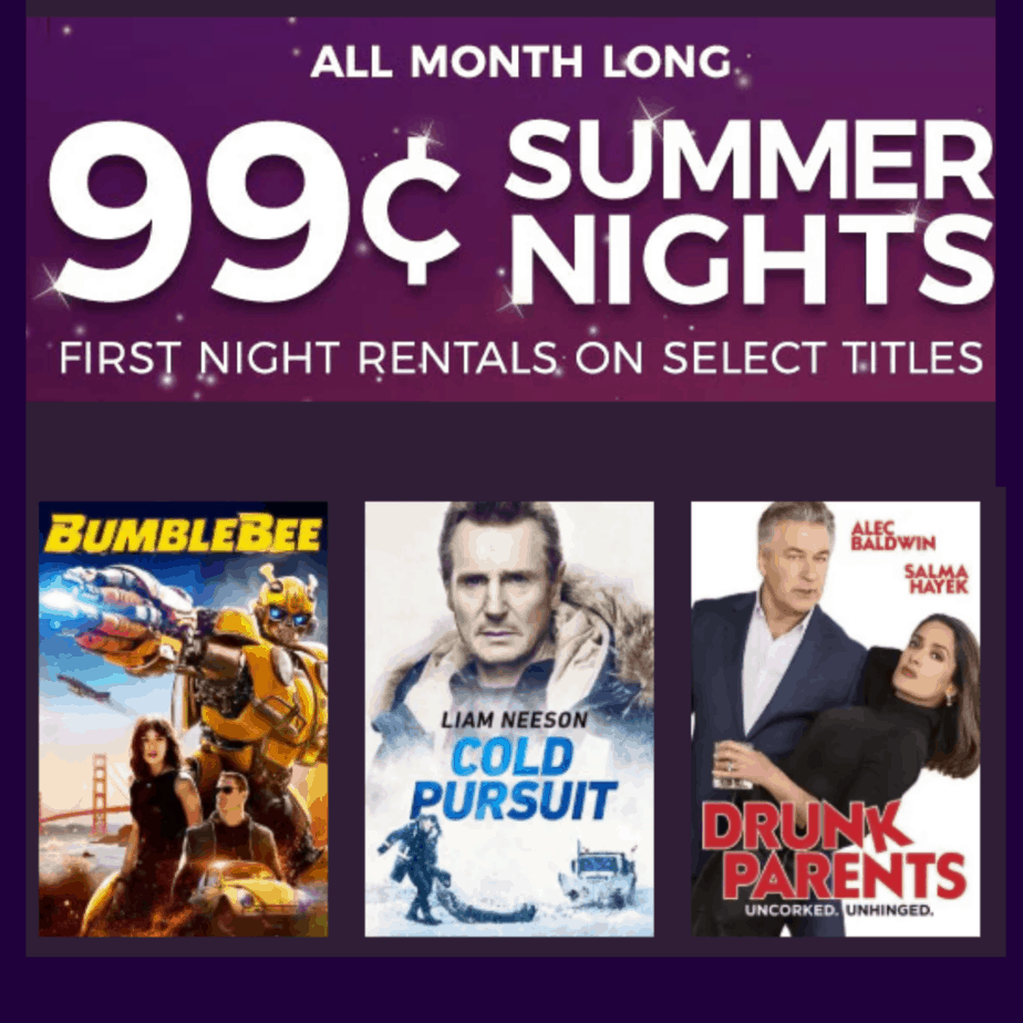Redbox: Select Movie Rentals ONLY $0.99 Each