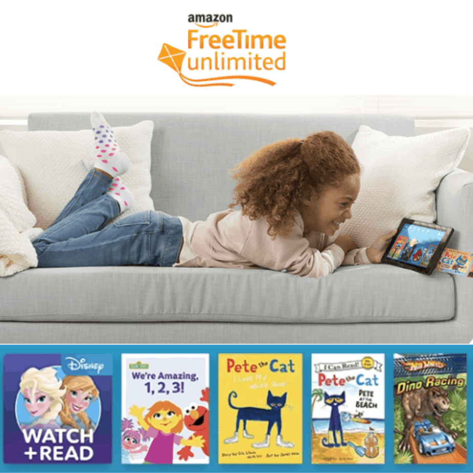 1-Year Amazon Kids+ (formerly FreeTime Unlimited) Now $19.99 (Was $69)