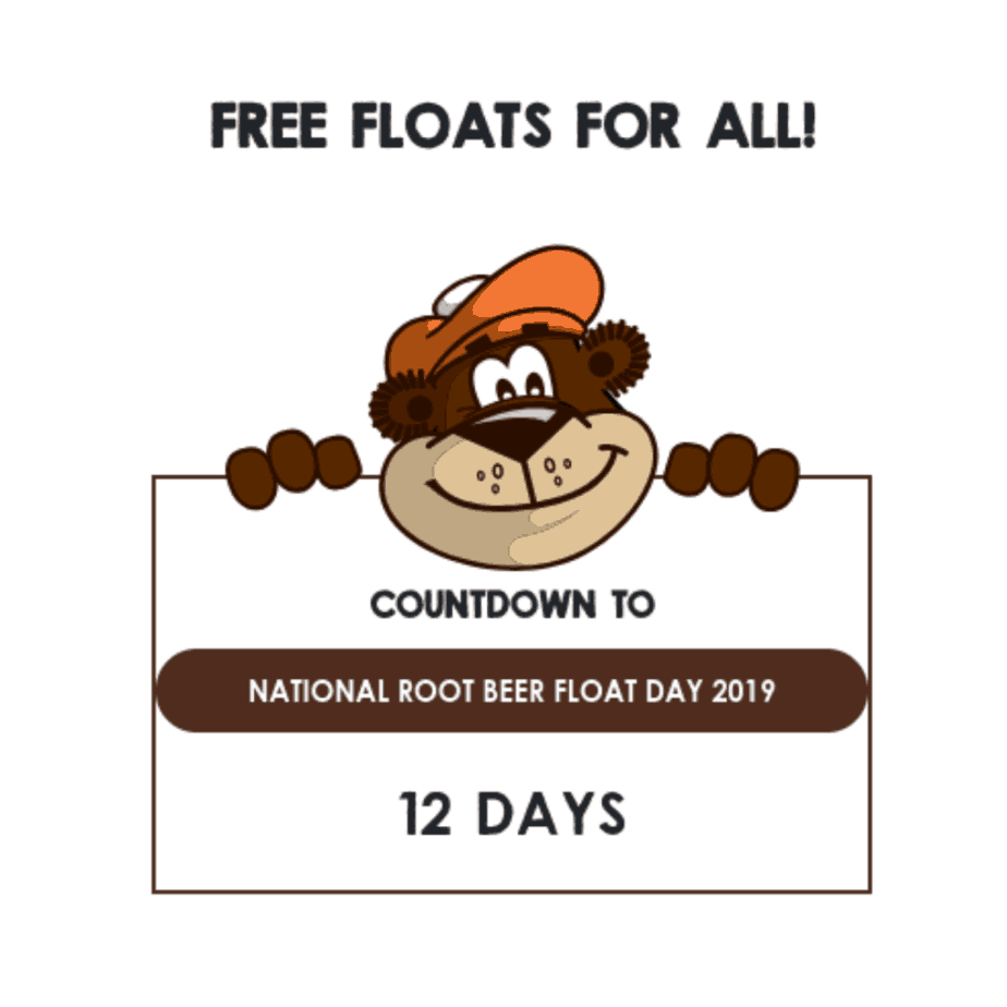 Free Root Beer Float at A&W on August 6th
