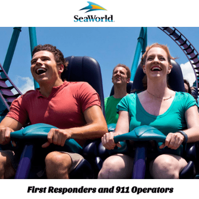 FREE Ticket to SeaWorld for First Responders
