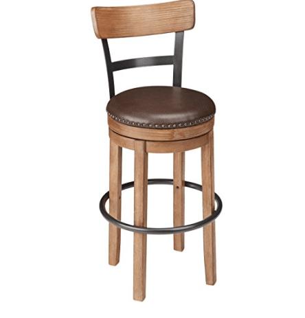 Ashley Furniture Swivel Bar Stool - Pub Height Only $68 (Was $200)