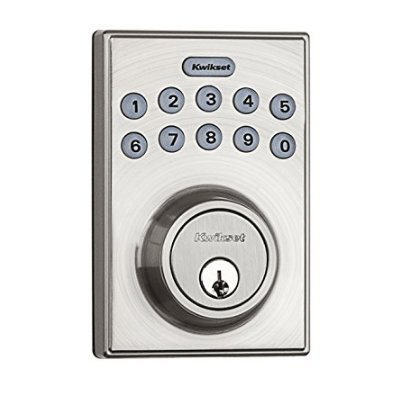 Kwikset Electronic Keypad with 1-Touch Motorized Locking Only $47.99