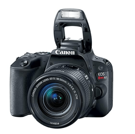 Canon EOS Rebel SL2 DSLR Camera with EF-S 18-55mm STM Lens Only $384 (Was $700)