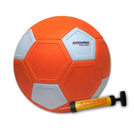 Kickerball - Curve and Swerve Soccer Ball/Football Toy Only $18 **Today Only**