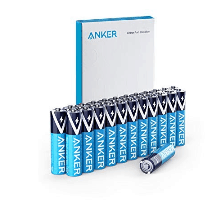 24 Pack of Anker Alkaline AAA Batteries Only $6.50