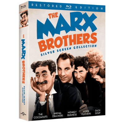 The Marx Brothers Silver Screen Collection on Blu-ray $14.99