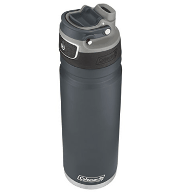 Coleman FreeFlow AUTOSEAL Insulated Stainless Steel Water Bottle $11.73