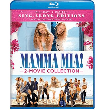 Mamma Mia! 2-Movie Collection on Blu-ray $9.99