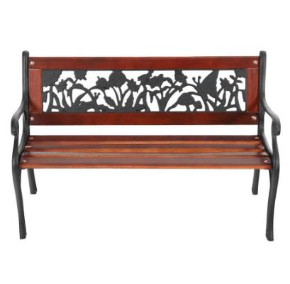 Lowe's: Garden Treasures Wrought Iron Children's Patio Bench Only $12