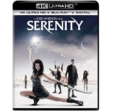 Serenity Movie on Blu-ray Only $11.99