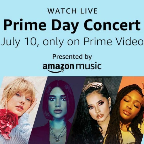 FREE Prime Day Concert for Prime Members on July 10th **Taylor Swift, SZA, and More**