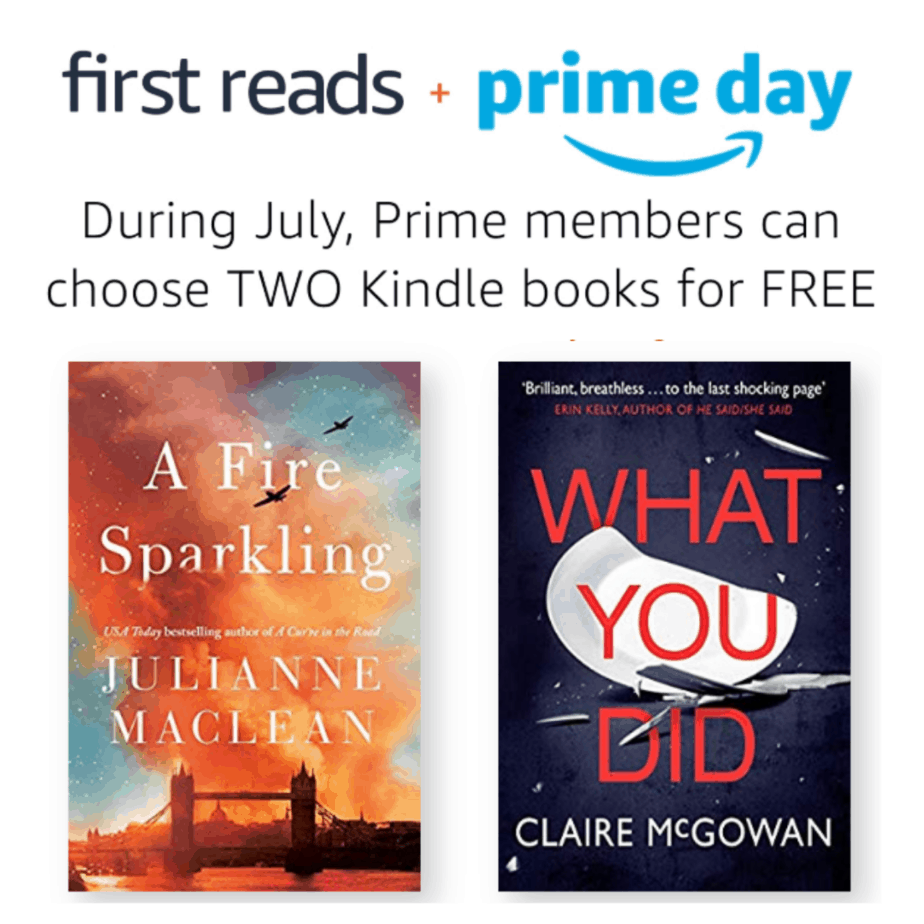 TWO Free Kindle Books for Prime Members